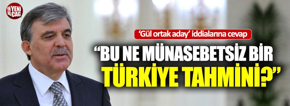 'Ortak aday Gül' iddialarına İYİ Parti