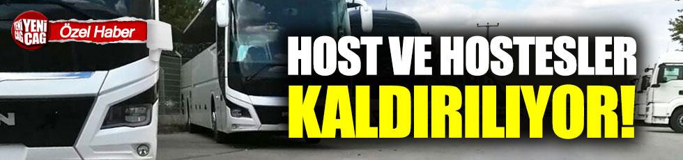 Kamil Koç'ta host ve hostesler kaldırılıyor