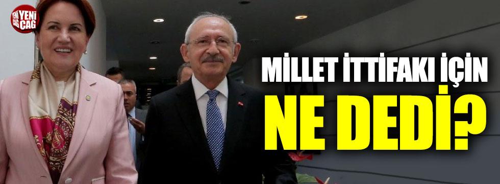 İYİ Partili Kavuncu'dan Millet İttifakı açıklaması