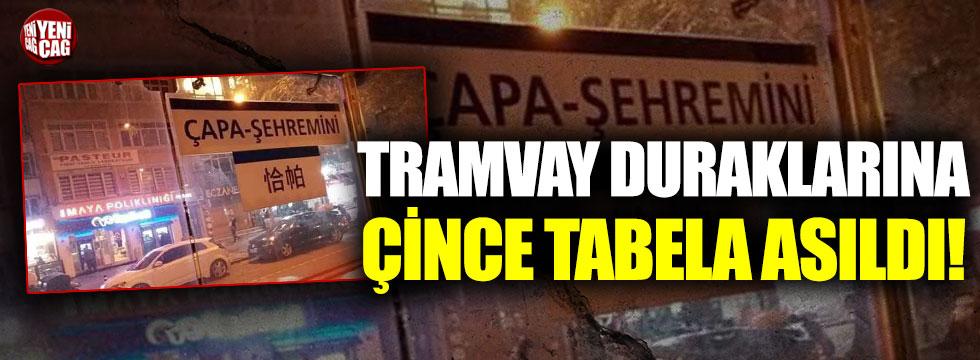 İstanbul'da Çince durak isimleri!