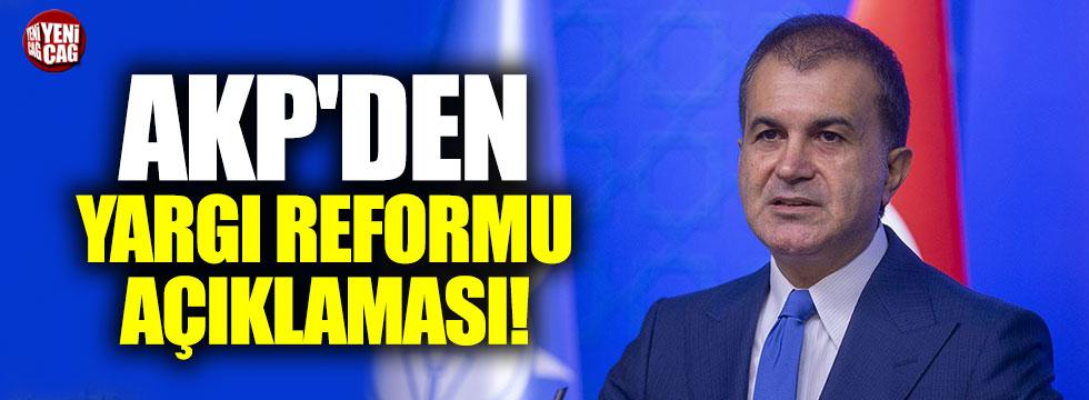 AKP'den yargı reformu açıklaması