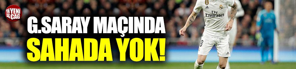 Toni Kroos Galatasaray maçında forma giyemeyecek