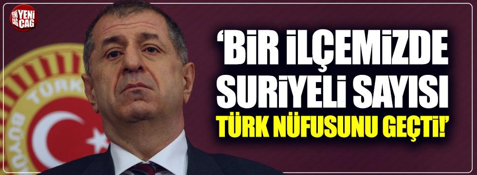"""Ümit Özdağ: """"Reyhanlı'da Suriyeli sayısı Türkleri geçti"""""""