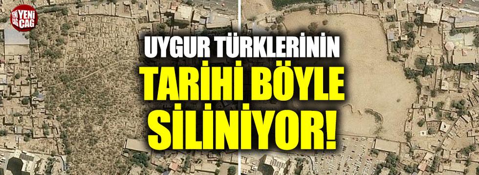 Uygur Türklerinin tarihi böyle yok ediliyor