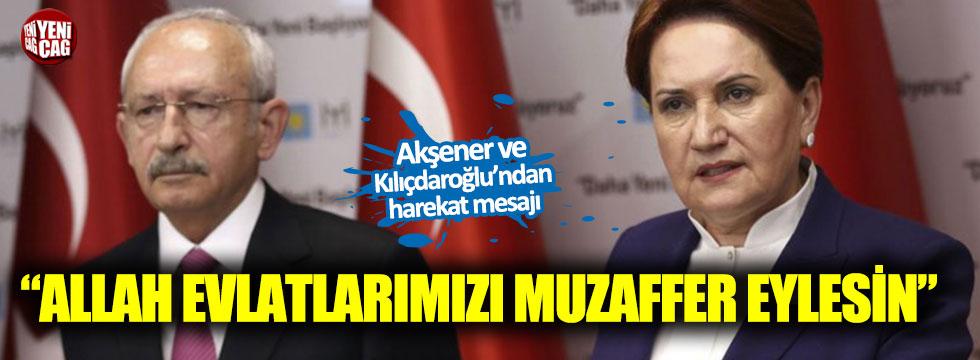 Akşener ve Kılıçdaroğlu'ndan açıklama