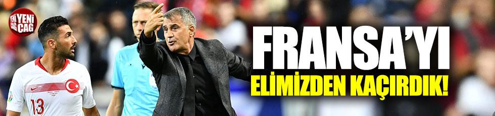 Fransa - Türkiye 1-1 (Maç Özeti)