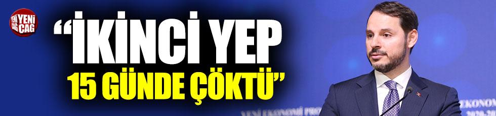"""Veli Ağbaba: """"İkinci YEP 15 günde çöktü"""""""