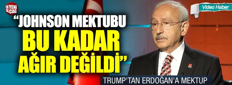 Kılıçdaroğlu'ndan 'mektup' yorumu