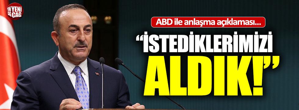 """Çavuşoğlu: """"Ateşkes yok, anlaşma sağlandı"""""""