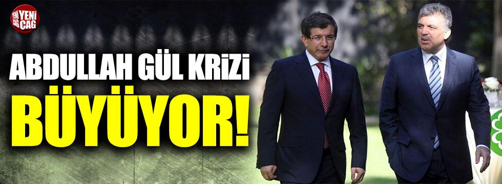 Babacan ve Davutoğlu cephesinde Abdullah Gül krizi