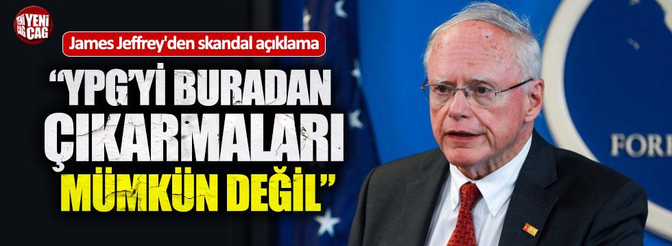 """Jeffrey: """"YPG'yi çıkarmaları mümkün değil"""""""