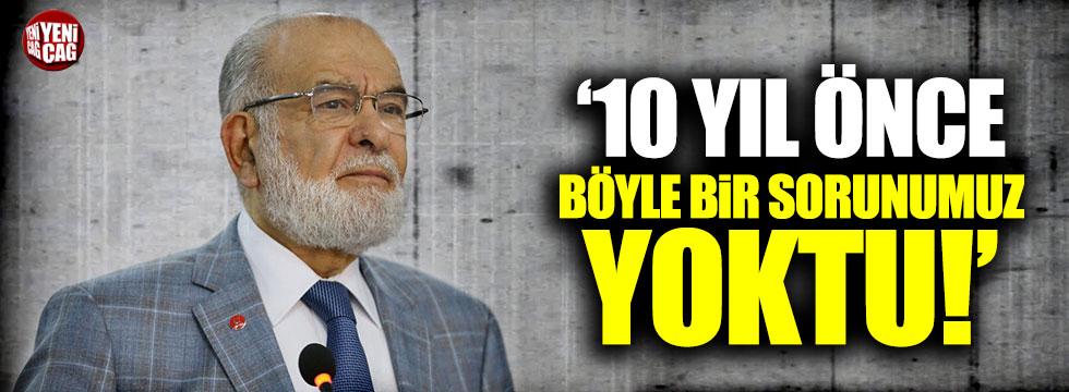 Temel Karamollaoğlu'ndan AKP'ye tepki