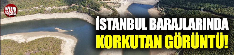 İstanbul barajlarında korkutan görüntü!