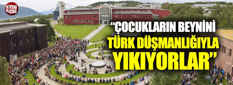 """""""İlkokul çocuklarının beynini Türk düşmanlığıyla yıkıyorlar"""""""