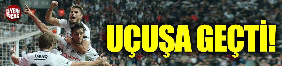Beşiktaş yükselişe geçti!