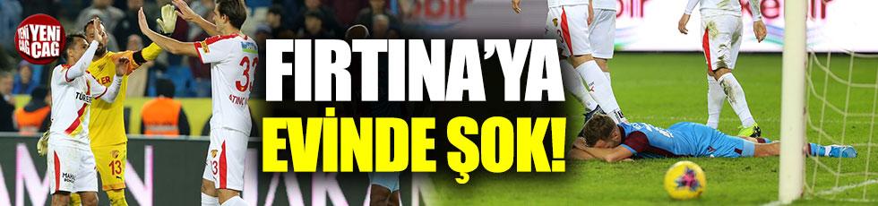 Trabzonspor-Göztepe 0-1 (Maç özeti)