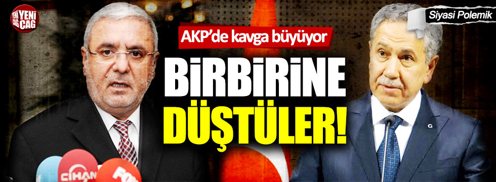 AKP'li Mehmet Metiner'den Bülent Arınç'a tepki