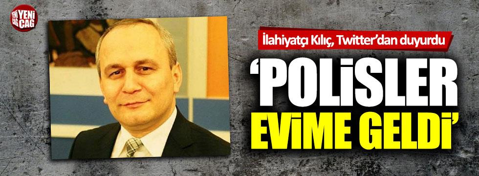 """İlahiyatçı Cemil Kılıç: """"Polisler evime geldi"""""""