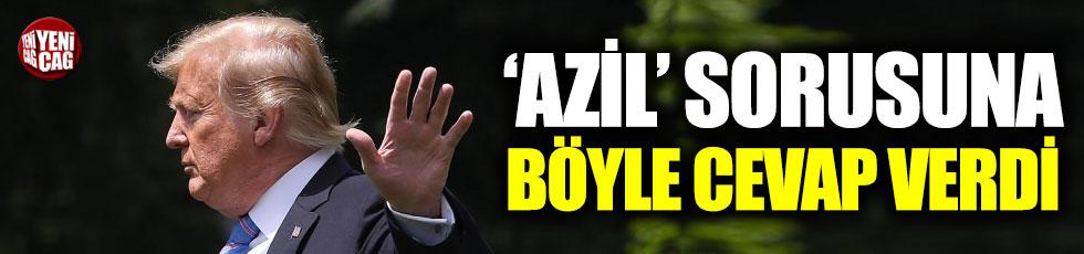 Trump'tan 'azil' yorumu