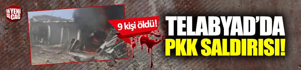Telabyad'da PKK saldırısı: 9 ölü!