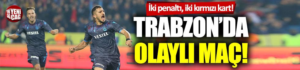 Trabzonspor-Alanyaspor: 1-0 (Maçın özeti)