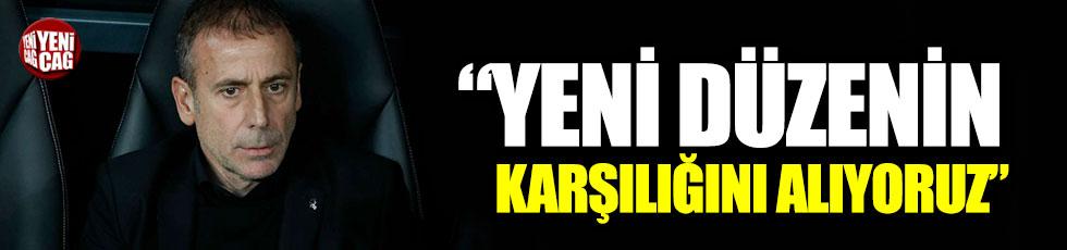 """Abdullah Avcı: """"Yeni düzenin karşılığını alıyoruz"""""""