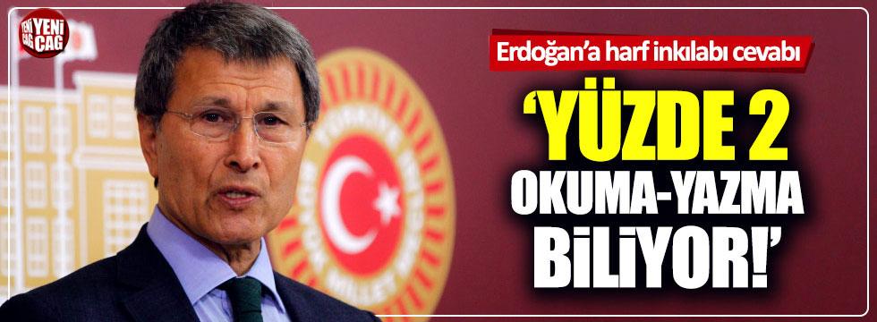 Yusuf Halaçoğlu'ndan Erdoğan'a belgeli yanıt