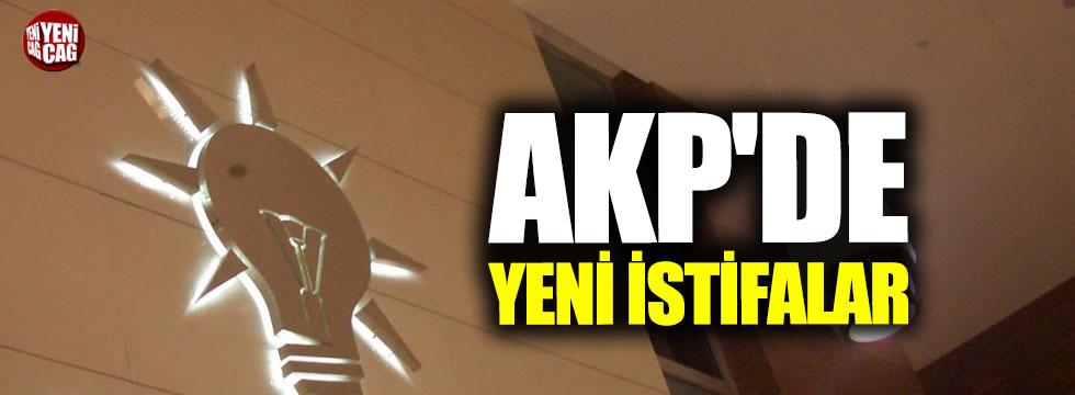 AKP'de yeni istifalar