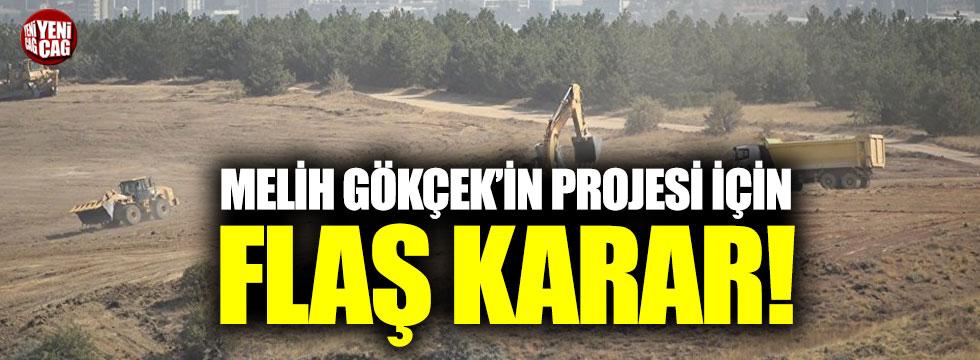 Melih Gökçek'in projesine mahkemeden durdurma kararı