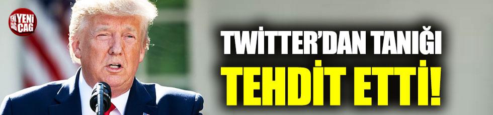 Trump Twitter'dan tanığı tehdit etti!