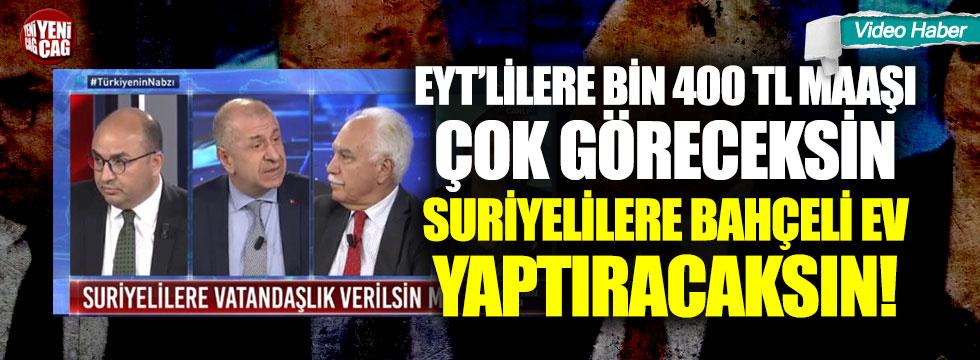 """Ümit Özdağ, """"Türklerin insanlık haklarına aykırı"""""""