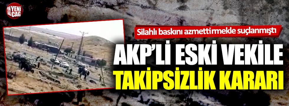 4 kişinin öldüğü olayı azmettirmekle suçlanmıştı: AKP'li isim için takipsizlik kararı!