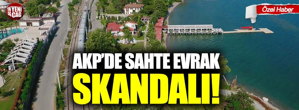 AKP'de sahte evrak skandalı!