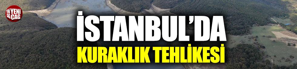 İstanbul'un 100 günlük suyu kaldı!