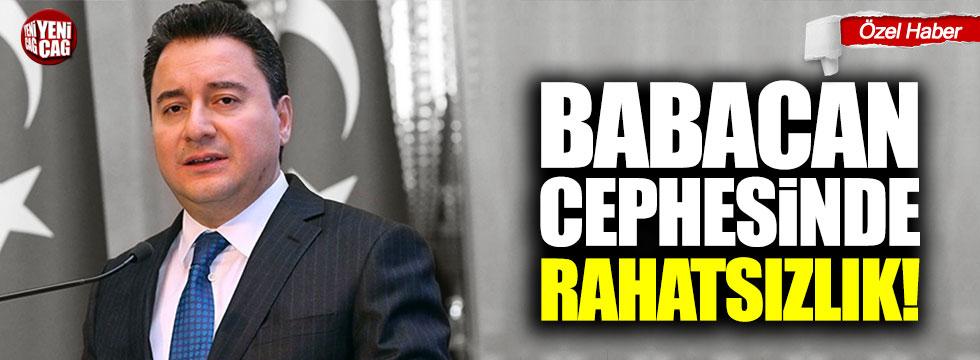 Ali Babacan'ın kuracağı partide rahatsızlık