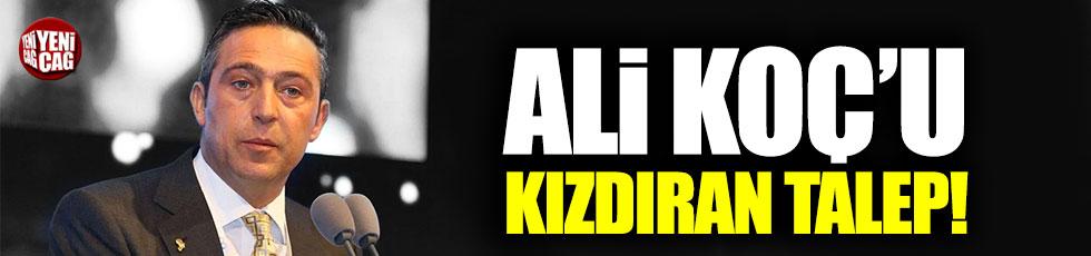 Ozan Tufan'dan Ali Koç'u kızdıran talep