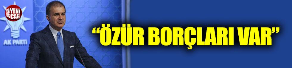 Ömer Çelik'ten 'Saray'a giden CHP'li' açıklaması