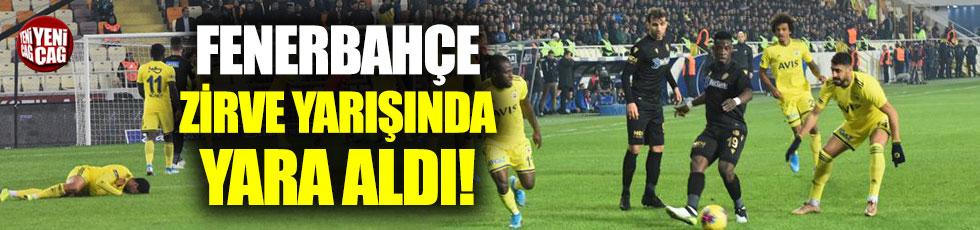 Yeni Malatyaspor - Fenerbahçe 0-0 (Maç özeti)