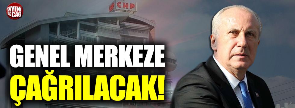 CHP yönetimi Muharrem İnce'yi dinleyecek