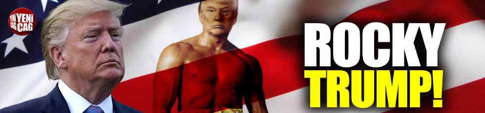 ABD Başkanı Donald Trump'tan 'Rocky' paylaşımı