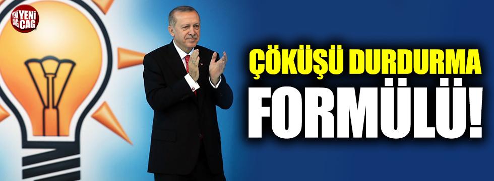 AKP'de çöküşü durdurma formülü!