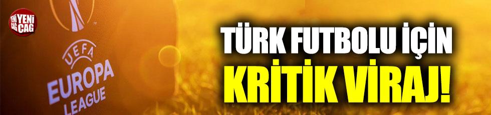 Türk futbolu için kritik viraj!
