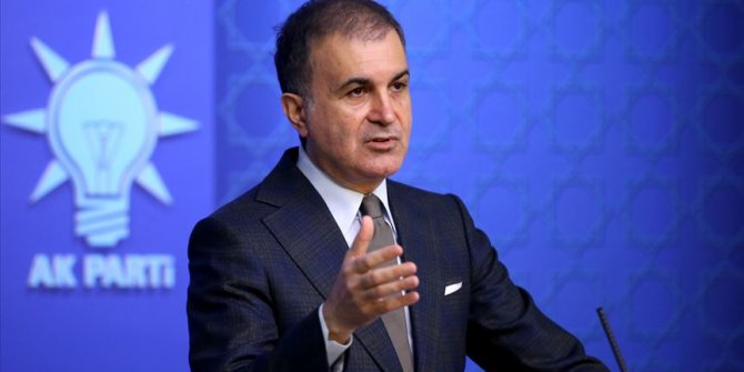 AKP Sözcüsü Çelik'ten Macron'a tepki