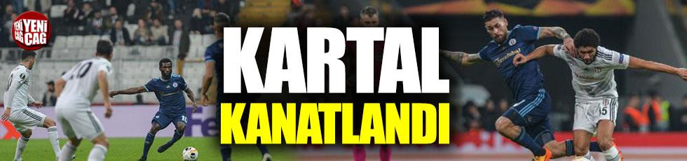 Beşiktaş - Slovan Bratislava 2-1 (Maç özeti)