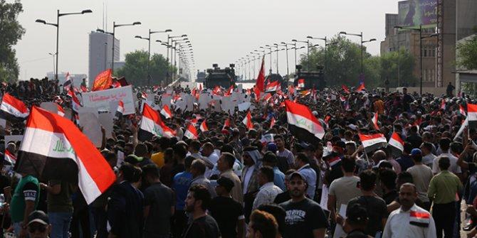 Irak'ta gösteriler devam ediyor