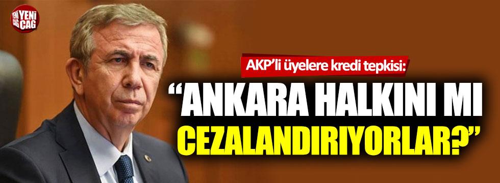 """Mansur Yavaş: """"Ankara halkını mı cezalandırıyorlar?"""""""