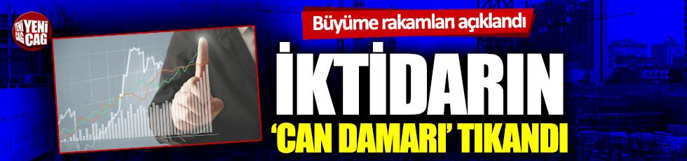 Ekonomide büyüme rakamları açıklandı: AKP'nin 'Can damarı' tıkandı