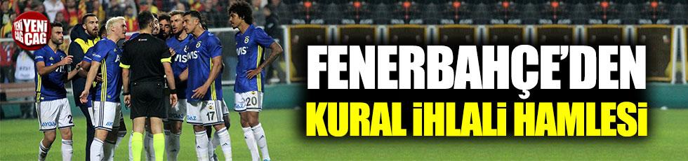 Fenerbahçe 'kural ihlali' başvurusunda bulunacak
