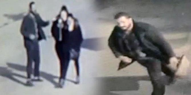 Polis her yerde kadınlara asitle saldıran adamı arıyor