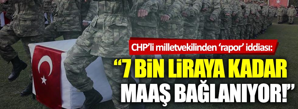 CHP'den 'askeri raporlar parayla satılıyor' iddiası